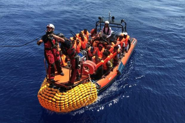 Those rescued on Monday are all male  mostly Sudanese  and include 29 minors and two boys aged five ...