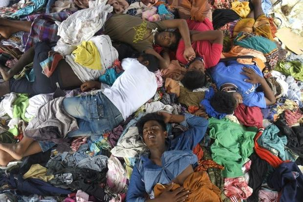 Many of the Rohingya who arrived in Indonesia this week paid up to $2 400 to get aboard  but smuggle...