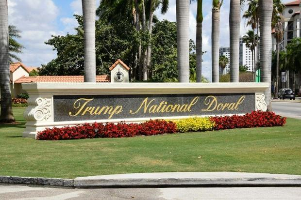 A view of the Trump National Doral resort near Miami  Florida; the president wanted to host next yea...