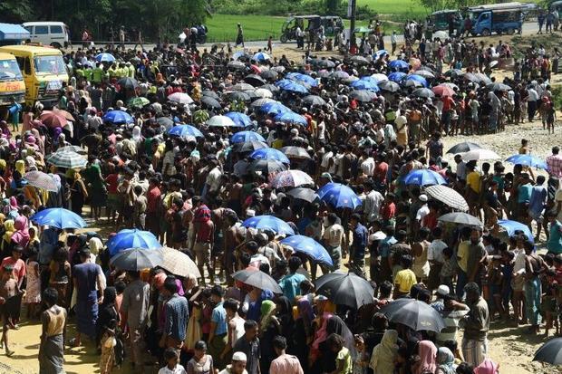 Around one million Muslim Rohingya live in cramped refugee camps in Bangladesh -- next to their nati...