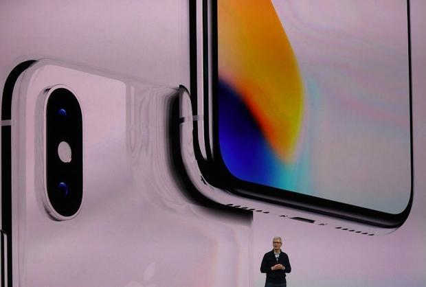 Apple CEO Tim Cook unveiled the iPhone X in September  ahead of the November 3 release date for the ...