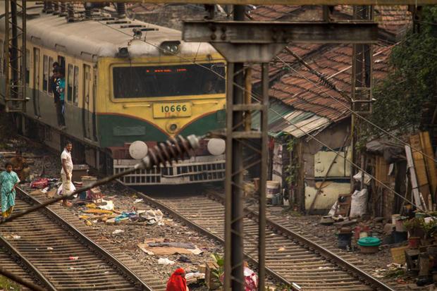 Dhakuria Railway Colony. Kolkata  India.