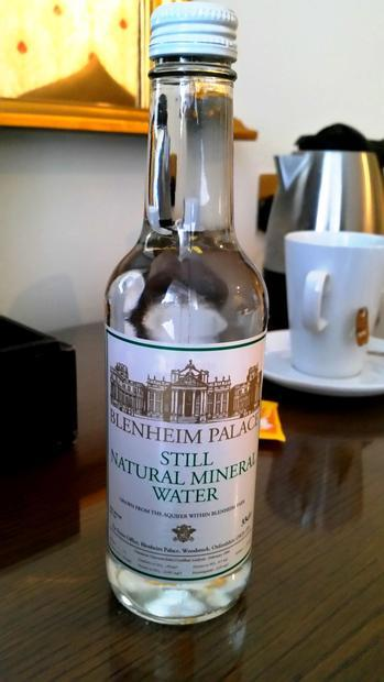 Mineral water  from  Blenheim Palace. Blenheim Palace was built between 1705 and circa 1722. Blenhei...