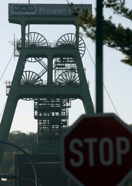 Mining will stop at the Prosper-Haniel coal mine on Friday  but its owner RAG will have to keep pump...
