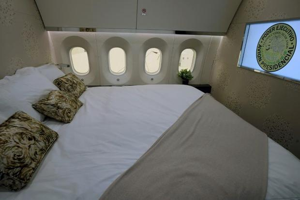 It has proven hard to find a buyer for a massive jet customized with an executive bedroom  private b...