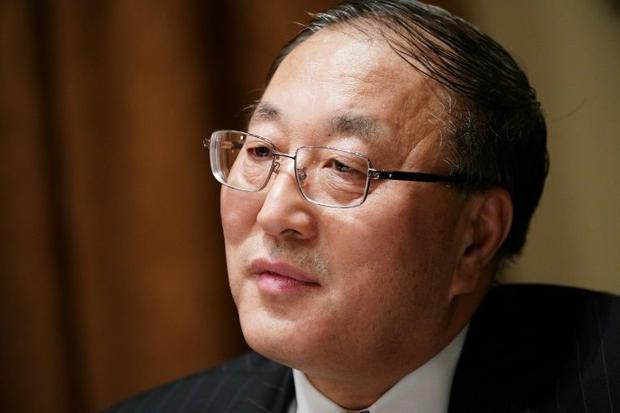 Chinese representative to the UN Zhang Jun  seen here in December 2019  is among diplomats voicing d...