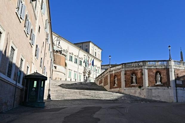 Among the church assets taken was the huge Quirinale palace  once home to 30 popes but now the resid...