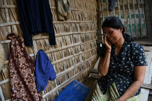 Roeurn Reth fears she will have to sell her land to repay microfinance loans