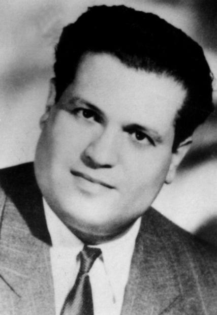 A undated file photo of Algerian lawyer Ali Boumendjel  who was also a member of underground resista...
