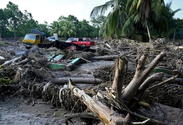Less than two weeks after powerful storm Eta killed more than 200 people across Central America  aut...