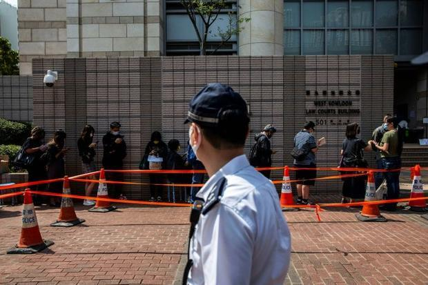 Some of Hong Kong's best-known dissidents have been arrested for