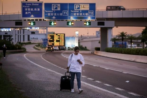 Airline passenger numbers have dropped sharply after two occupations of the airport saw the cancella...