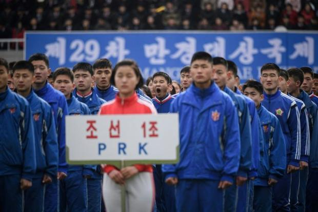 The race is part of celebrations for the anniversary of Kim Il Sung's birth in 1912