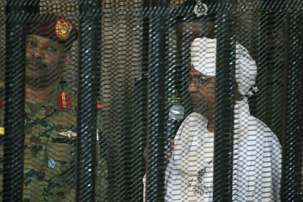 Autocrat Omar al-Bashir was deposed by the military last year and has already been convicted of corr...