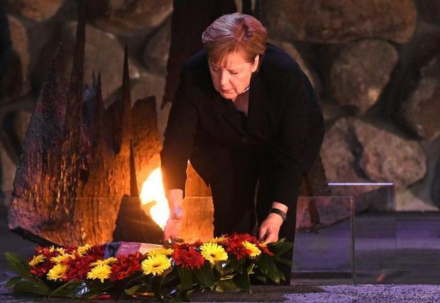 Merkel has visited Jerusalem's Yad Vashem Holocaust memorial centre five times