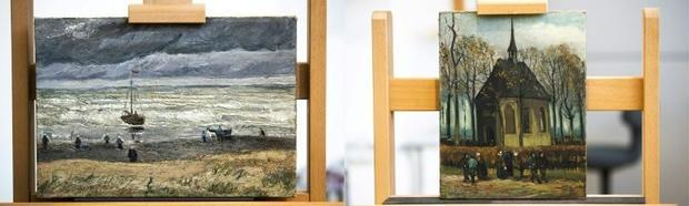 Despite an international investigation  there was no trace of the paintings for more than a decade