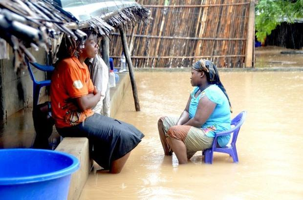 Cyclone Kenneth washed away roads  submerged fields and wrecked homes and buildings
