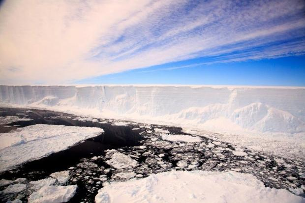 Icebergs naturally break off from Antarctica into the ocean  but climate change has accelerating the...