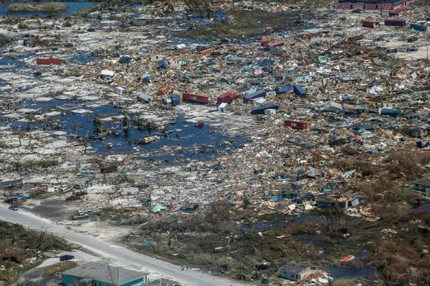 Hurricane Dorian left a trail of major flooding and damage on Abaco Island