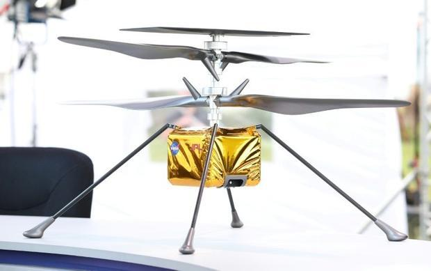 Once on the surface  NASA will attempt to deploy the Ingenuity Mars Helicopter -- a 1.8 kilogram air...