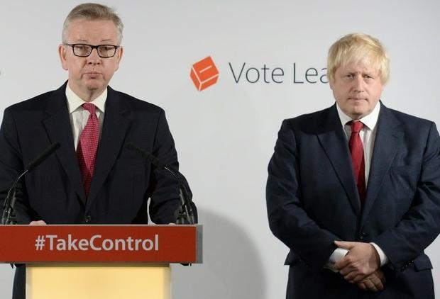 Michael Gove and Boris Johnson 'were trashing the government of which they were a part' sa...