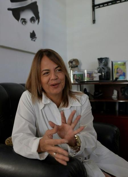 Cuban doctor Lourdes Garces has participated in three humanitarian missions organized by the state b...
