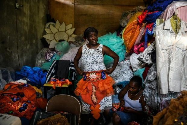 Haiti's tailors and seamstresses are super busy making costumes during Carnival season