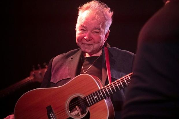 Singer John Prine's 1971 self-titled debut album was a critical hit  a first collection of his ...
