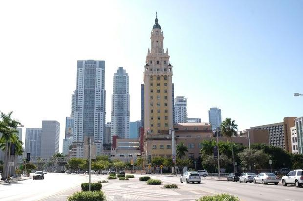 Nestled along downtown Miami's busy Biscayne Boulevard  the Miami Freedom Tower stands as an ic...