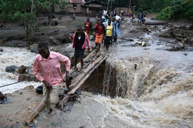 The Sume river in eastern Uganda runs through a mountainous area on the border between Uganda and Ke...