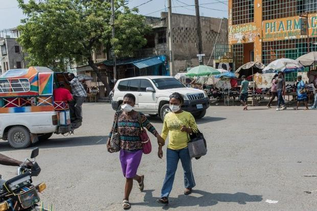 Beginning May 11  2020 wearing a face mask will be compulsory when out in the public in Haiti
