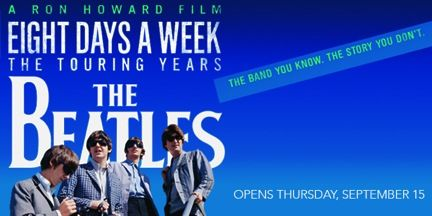 Ron Howard s documentary film about The Beatles will be shown at the San Rafael Film Center on Thurs...