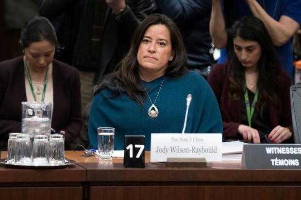 Former Canadian attorney general Jody Wilson-Raybould testified to lawmakers over the SNC-Lavalin af...