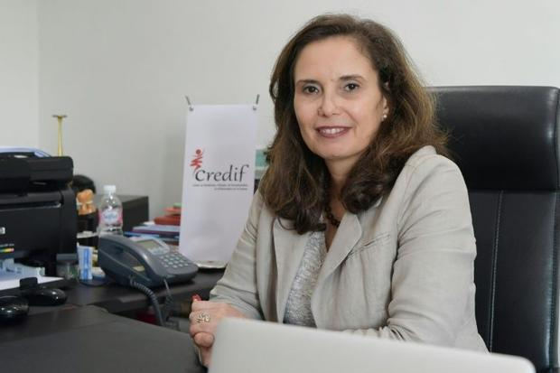 Najla Allani  director of research centre Credif  an organisation that has launched an awareness cam...