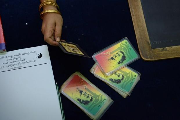 Myanmar voters are trying every last trick to influence the result of Sunday's historic polls i...