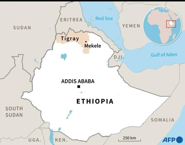The Ethiopian Red Cross Society said it did not ahve the