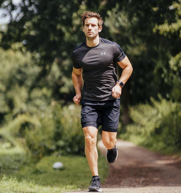 Social influencer and fitness trainer Alex Crockford