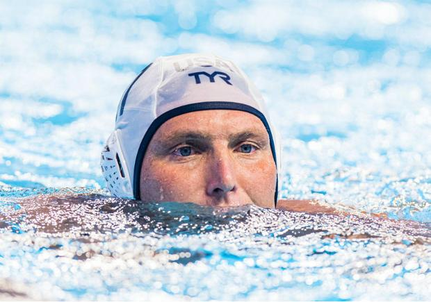 American water polo player Jesse Smith
