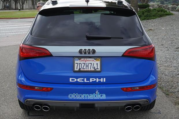 Delphi took their self-driving Audi SQ5 on a 3400 mile road-trip across the US