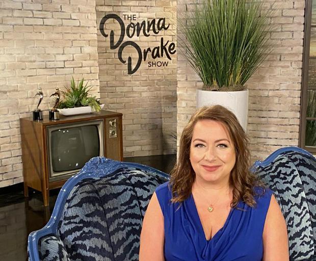 TV host Donna Drake