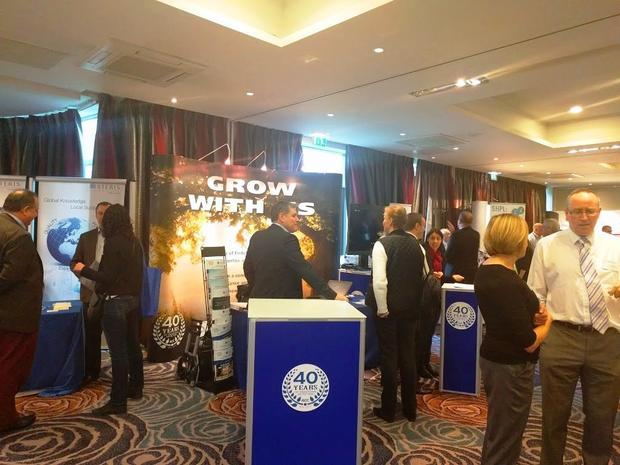 The Associates of Cape Cod exhibition stand  where the team were voted exhibitors of the year by the...