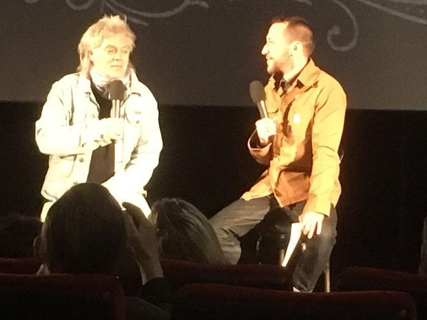 Marty Stuart interviewed by Baylen Leonard at the O2 Cineworld Cinemas in London  March 12  2017