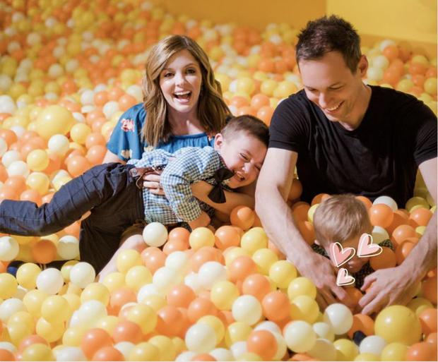 Jen Lilley with her family