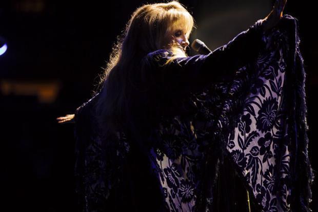 Stevie Nicks performing live