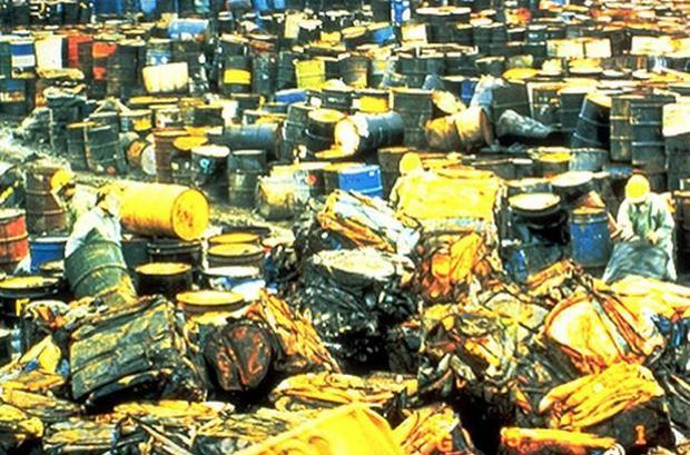The Valley of Drums  a toxic waste dump located in Bullitt Co. Kentucky is one of the reasons the U....