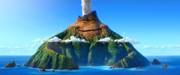 A scene from  Lava