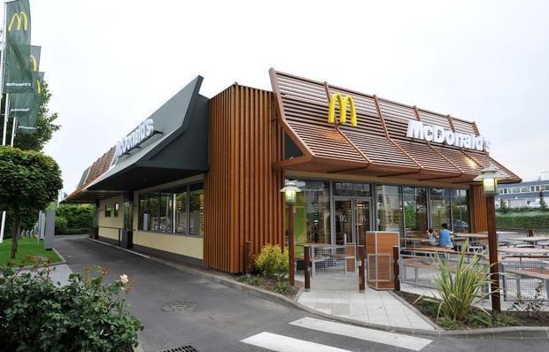 McDonalds Nanterre  France