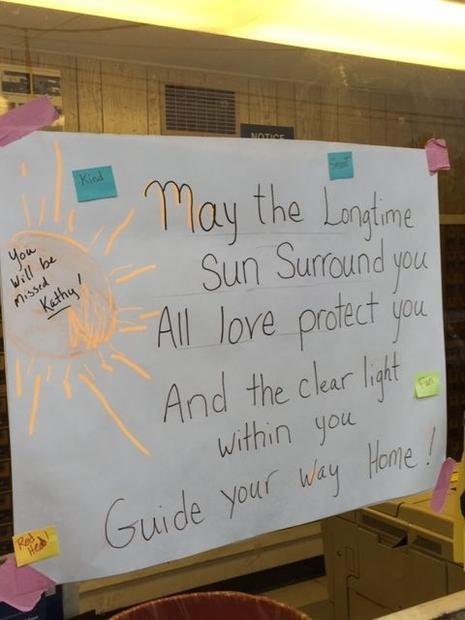 People who frequent the little post office station on the West side of Sonoma paid tribute to a belo...