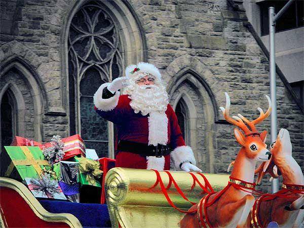 Toronto: The 106th annual Santa Claus Parade.