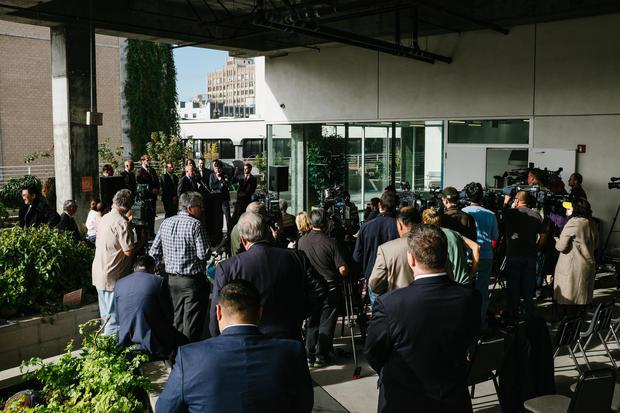January 4  press conference at the Star Apartments in Los Angeles was sponsored by the California St...